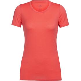 Icebreaker Tech Lite Naiset Lyhythihainen paita , punainen